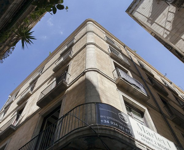 Marlet 1 new development for sale in Barcelona gothic quarter barrio gótico old town