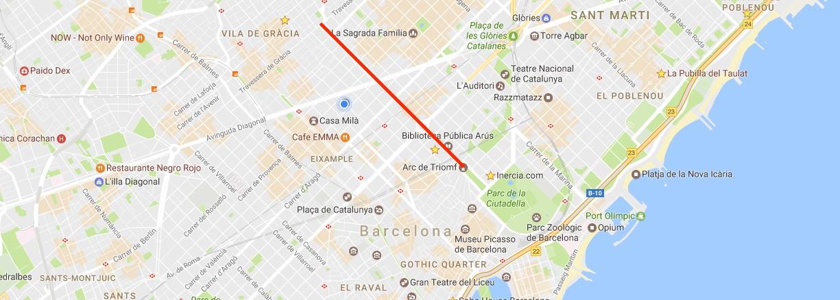 barcelona paseo san juan property