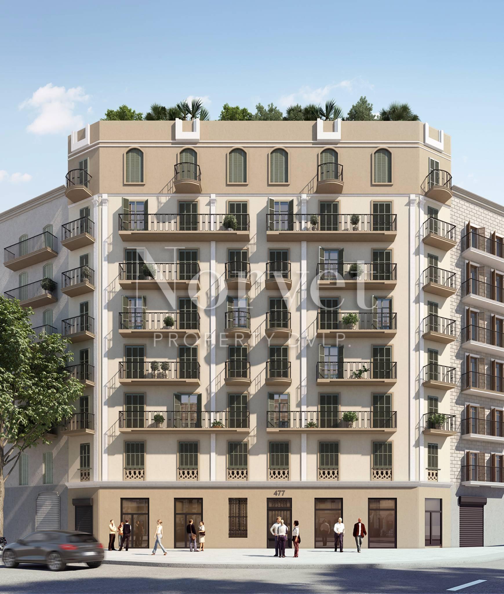 new development showcase: aragon apartments for sale in barcelona