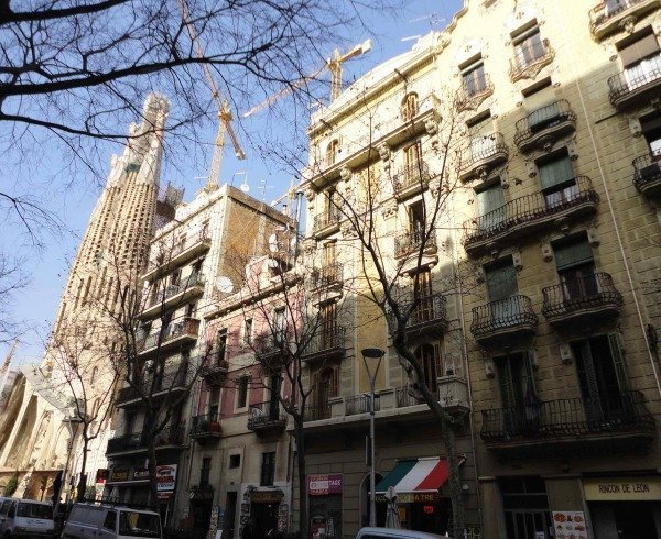 Barcelona, where rental asking prices are now 20% above their previous peak.
