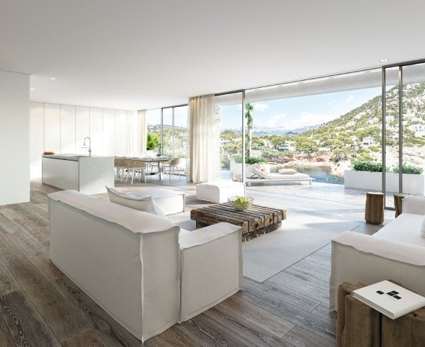 Blue Elements new development homes apartments and penthouses for sale in Puerto Porto Andratx Mallorca