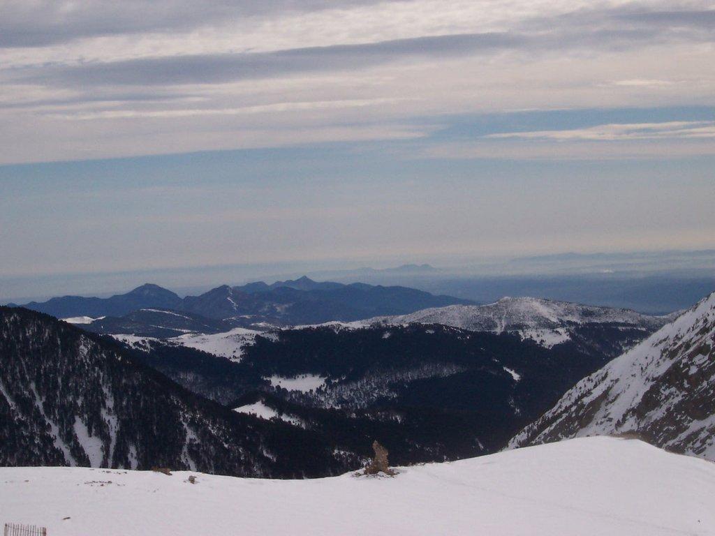 Vallter 2000 ski resort near Camprodón