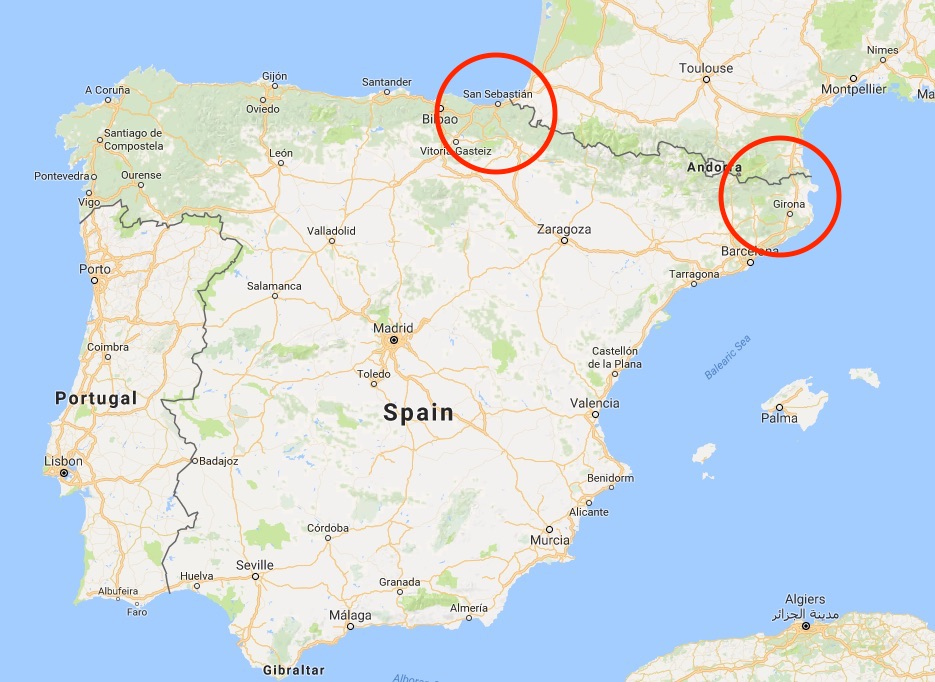 Catalonia and the Basque Country are critical to Spain's national security