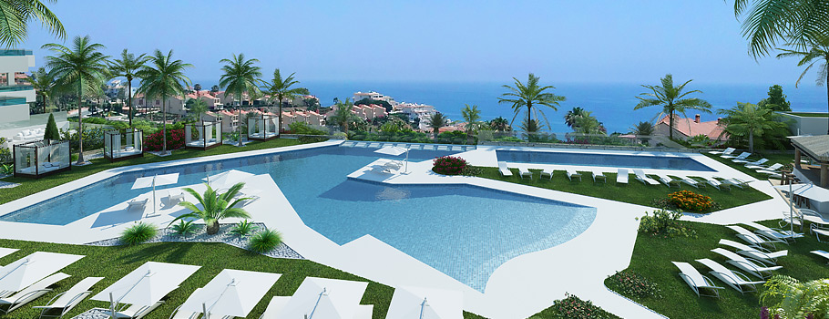 Santa Barbara Heights new development apartment for sale costa del sol