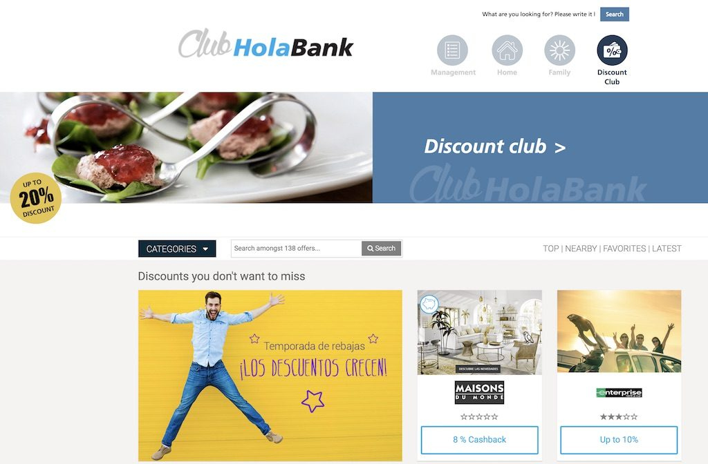 holabank spain banking for expats