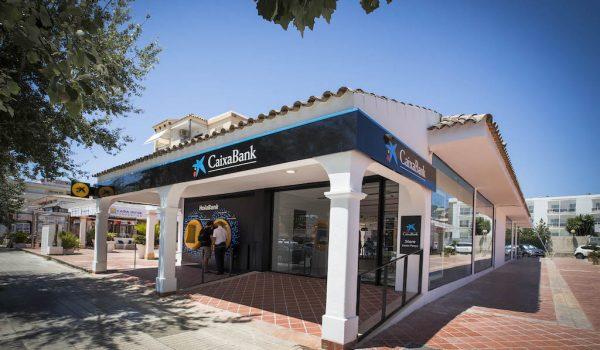 HolaBank branch in Santa Ponsa, Mallorca