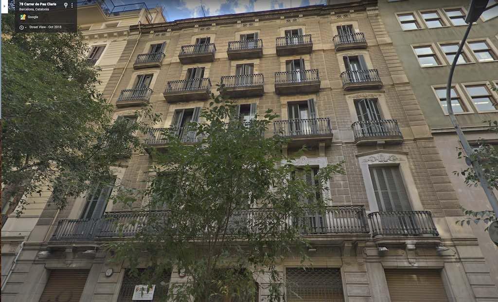 Barcelona footballer Gerard Piqué's latest real estate investment. Prime Barcelona address Pau Claris 79.