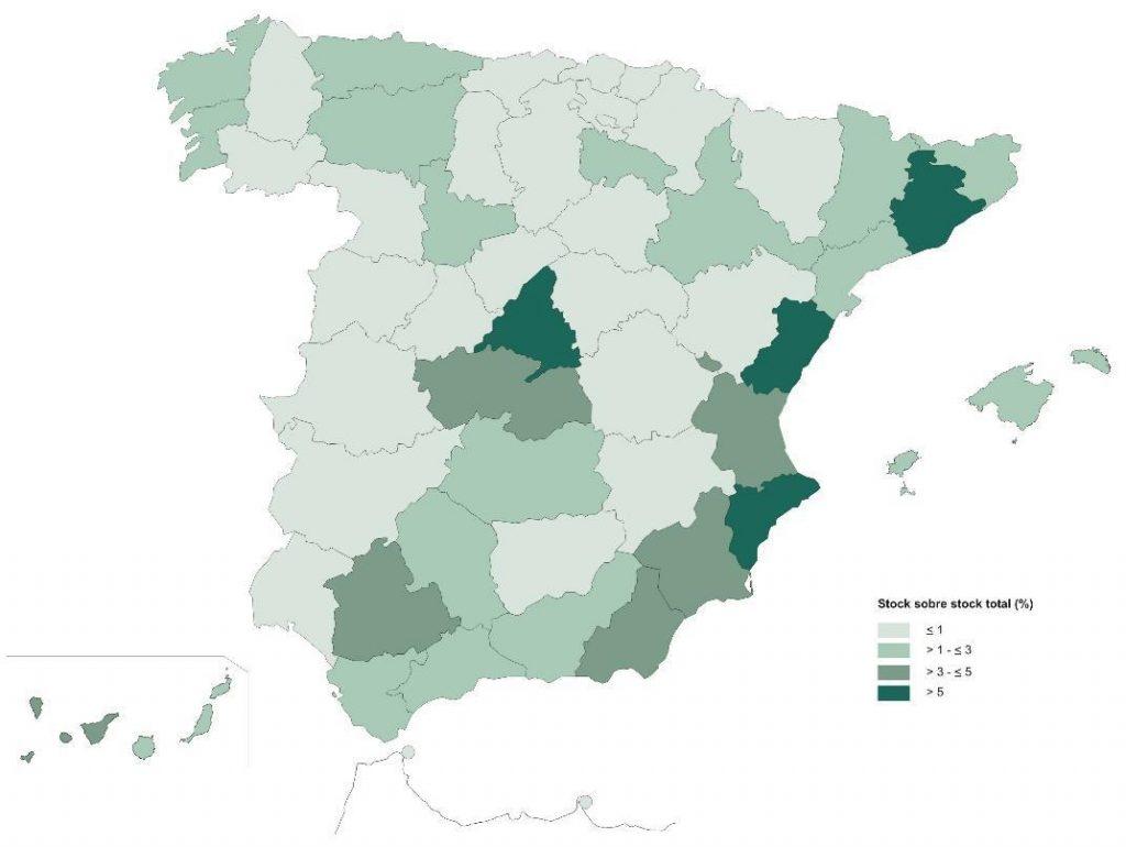 spanish new homes property glut 2018