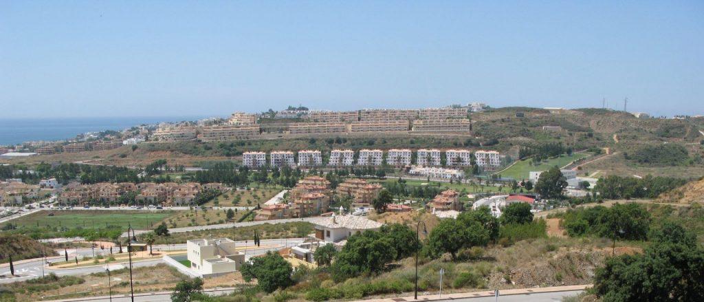 Spanish property market glut over development costa del sol
