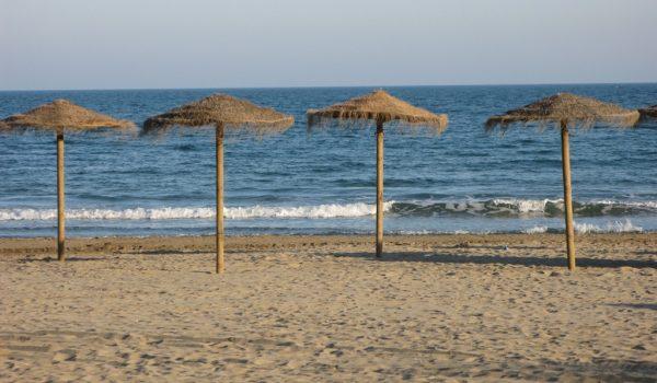 alcossebre beach castellon azahar valencian region