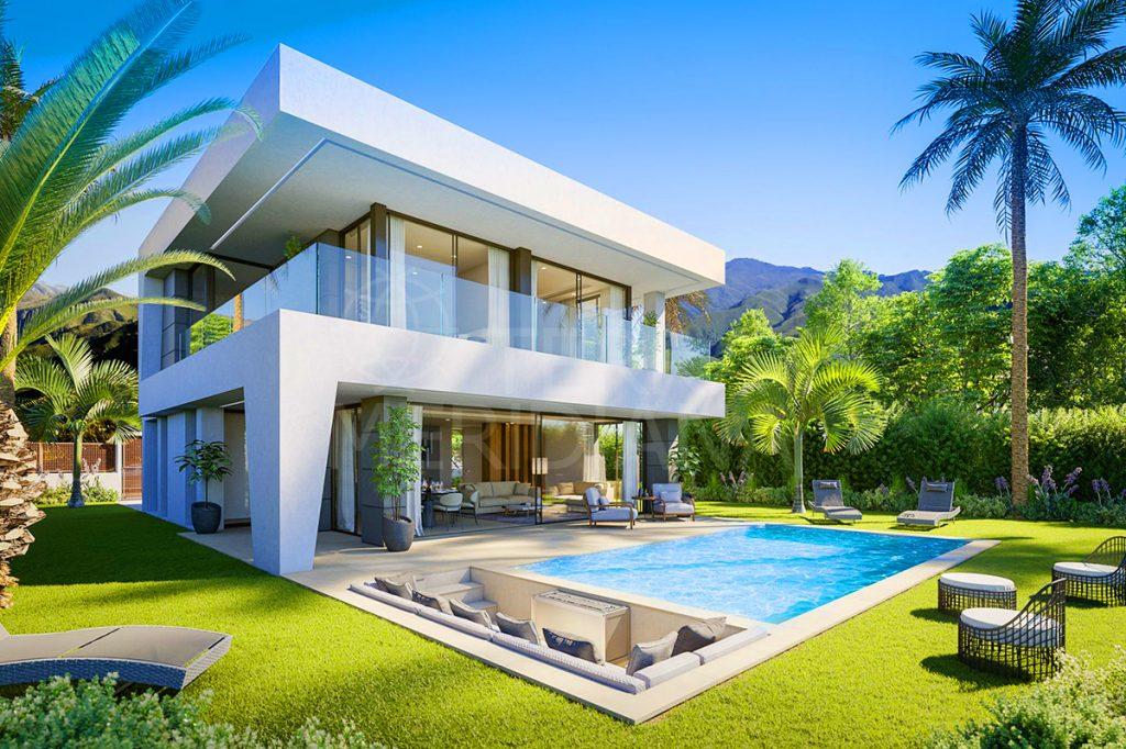Luxury villas for sale in Spain