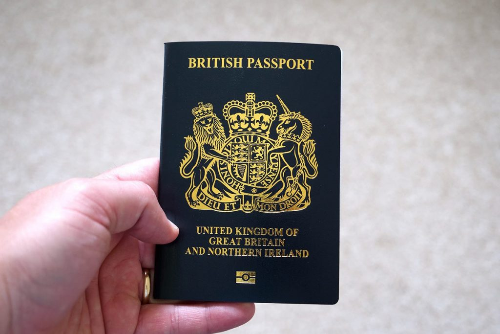 UK Nationals requirements spain vacation