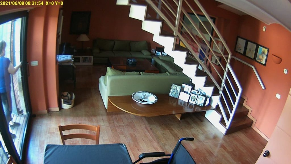 home surveillance property watch camera system spain