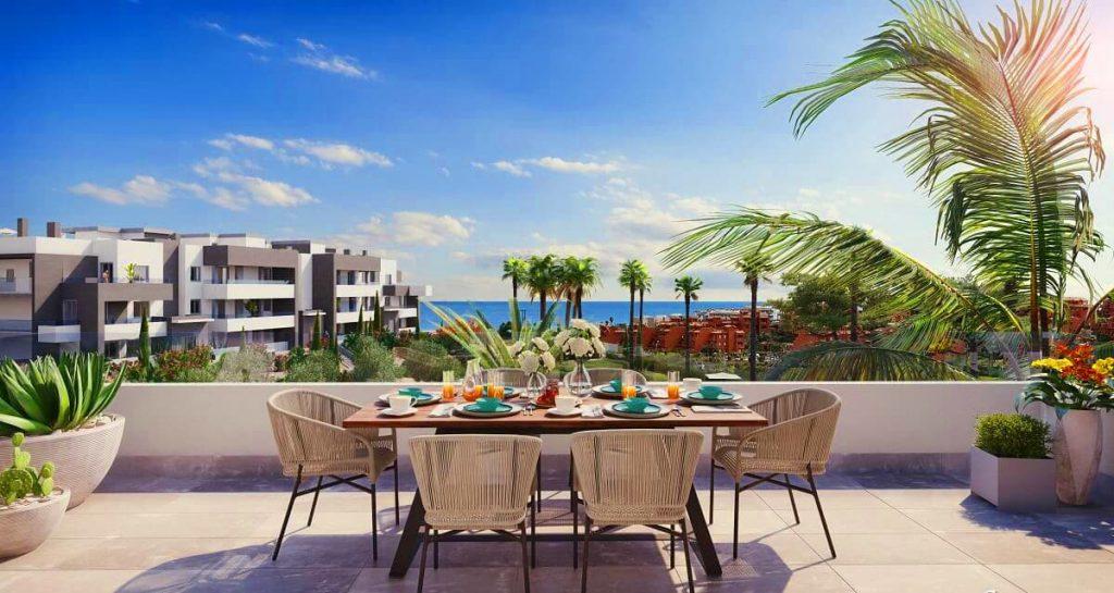 Estepona affordable properties Serenity views