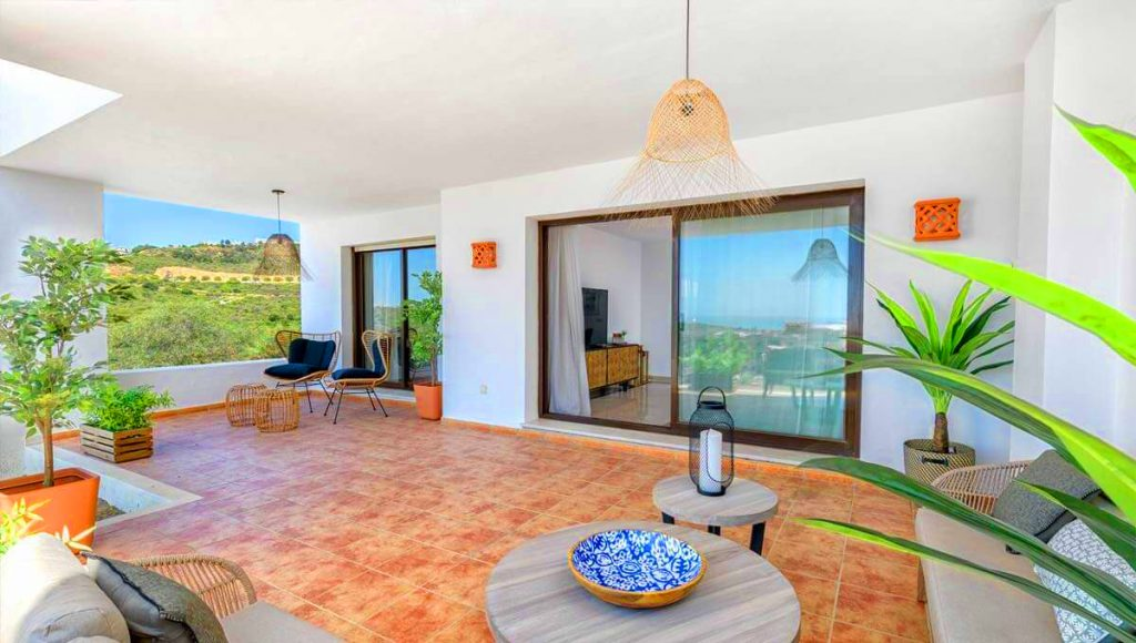 luxury apartment Casares Albatross